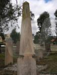 Headstone of James James