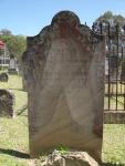 Headstone Thomas Budd 1860