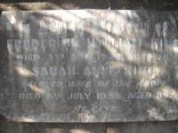 Frederick and Sarah King