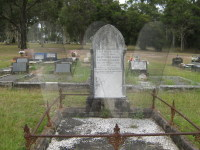 Headstone of Alfred & Ellen Goldsmith