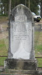 Headstone of John & Elizabeth Goldsmith