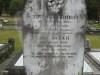 Headstone of Thomas & Sarah Bridge