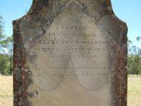 Elizabeth Meadows (nee Bridge, nee Buffey)