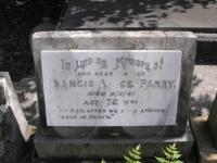 Francis Alice Parry