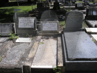 Parry Family at Point Clare Cemetery