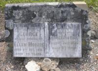 Headstone: George and Ellen Morris