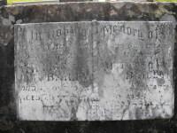 Headstone: Willian & Victoria Bailey