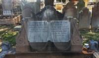 Headstone Frederick Elizabeth Cupitt