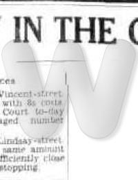 Newspaper - Herbert T Morris 1936