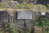 Tombstone of Sarah and Andrew Bridge